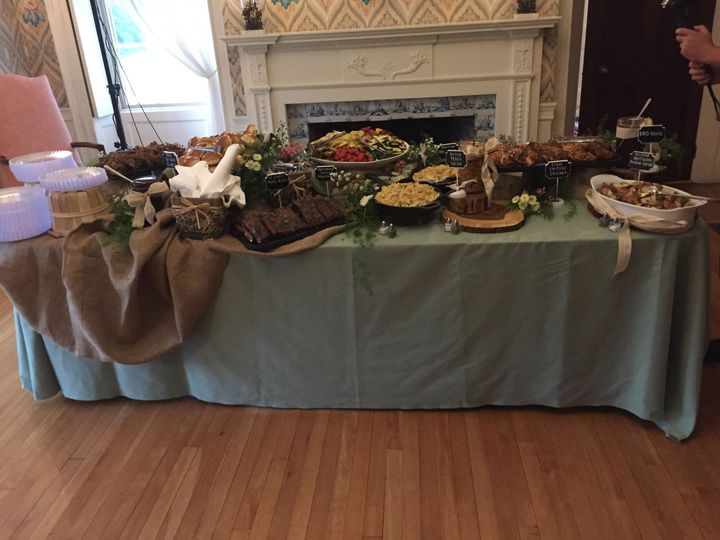 Tmx 1503081870044 Southern Bbq Buffet Woburn, MA wedding catering