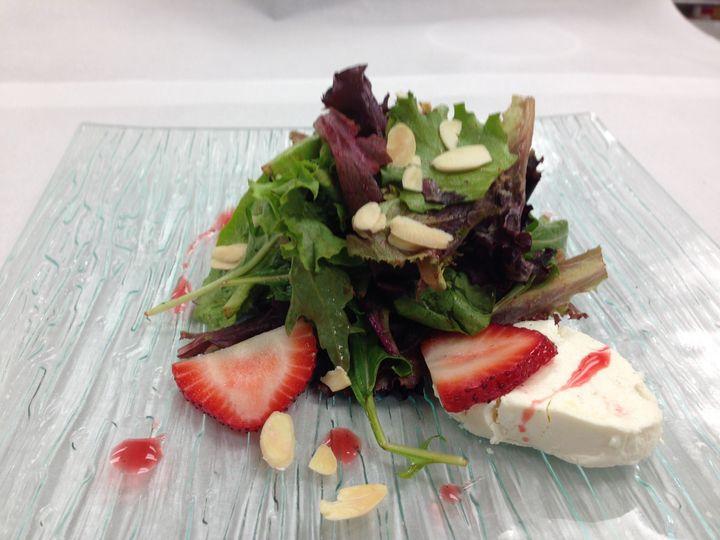 Tmx 1503082050894 Goat Cheese Almonds Strawberry Salad Woburn, MA wedding catering