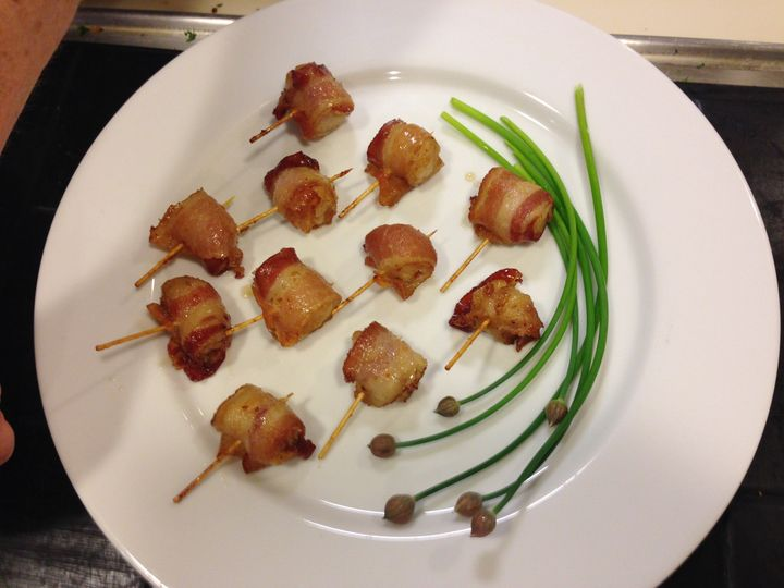 Tmx 1503082110028 Scallops Wrapped In Bacon Woburn, MA wedding catering