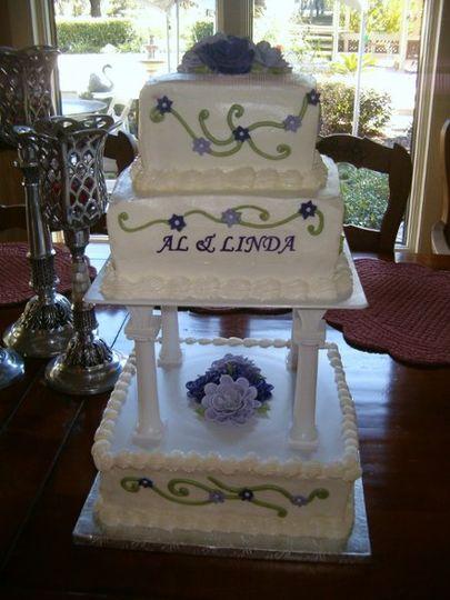 Sweet Stop Bakery Wedding Cake Ocala Fl Weddingwire