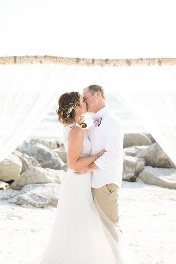 Soft updo Elegant Brides