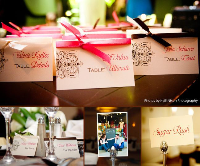 nancy wedding collage