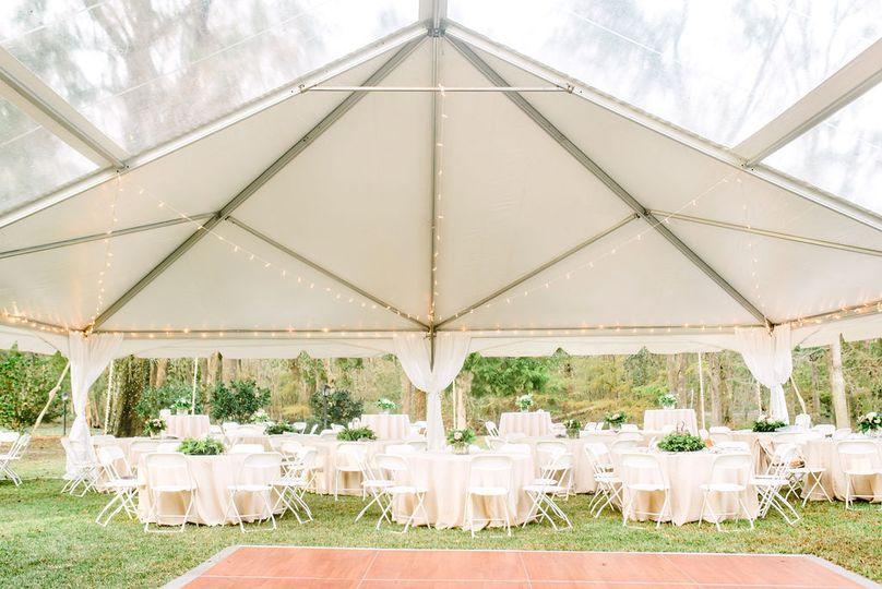 Tent ocala house