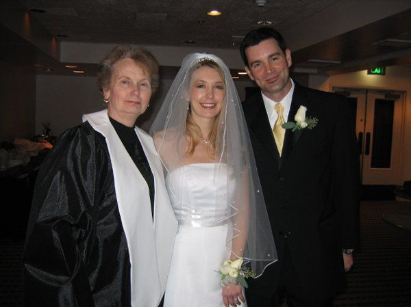 Tanya also is ordained and can officiate your wedding.  A great benefit if you are eloping!