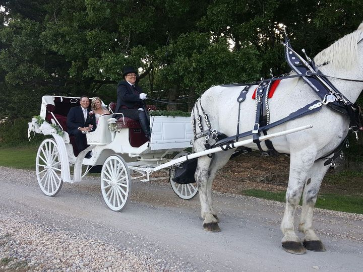 Tmx 1473358891140 Stephanie May Wedding Moore Farms 2016 Sapulpa wedding transportation