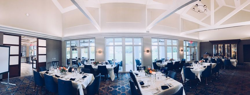 Ballroom with lakeviews