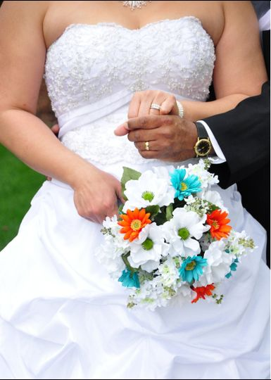 Wedding at the Dallas Arboretum.