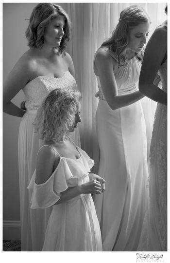 Brides' Maids at Work