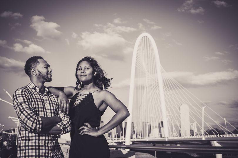 Dallas Engagement Photoshoot