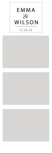 3-photo film strip template