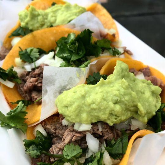 Tj style asada tacos