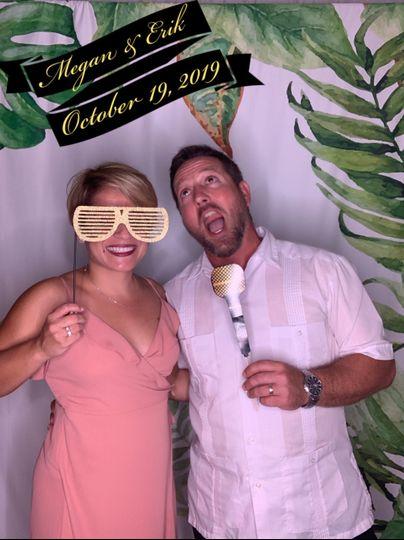 Having a little wedding fun