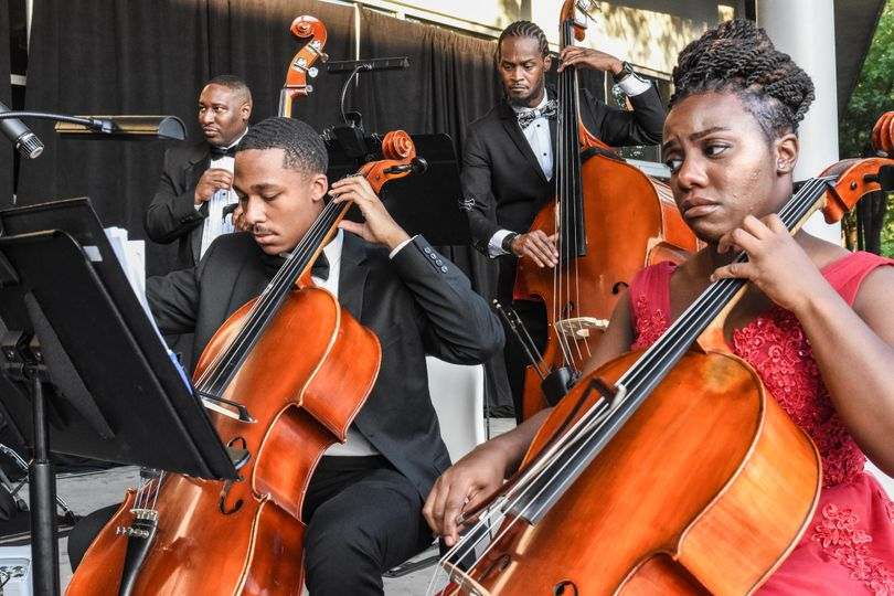 Symphony on the lawn event