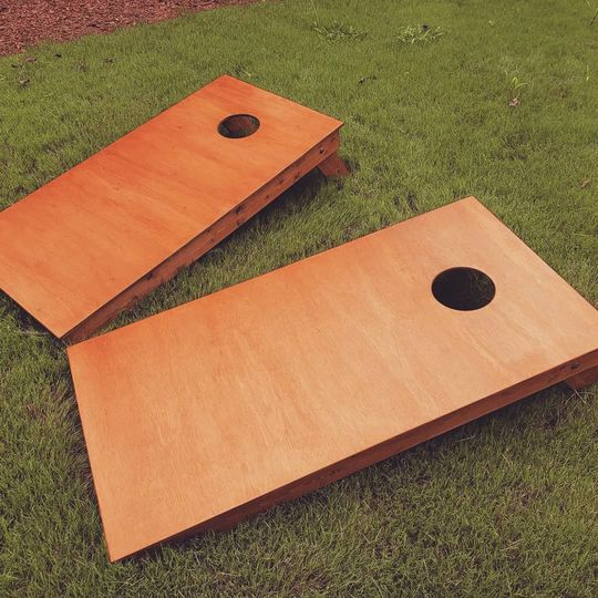Amber Cornhole Board