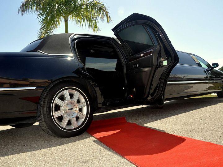 Tmx 1470350713855 Lincoln Towncar Stretch Black Side Fort Myers wedding transportation