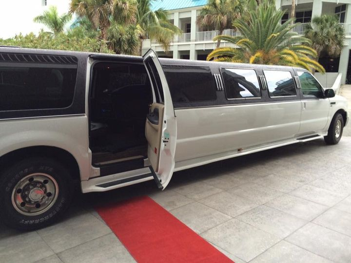Tmx 1472051425058 14pax Wedding Ford Excursion Red Carpet Fort Myers wedding transportation
