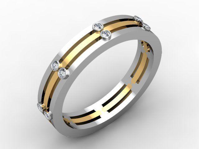 Tmx 1523894207 0b89e4f6dda50ca4 1523894206 08a43bfebd3ddac5 1523894205252 14 Layer Band Pittsburgh, Pennsylvania wedding jewelry