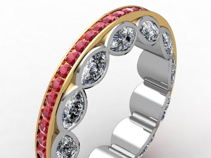 Tmx 1523894208 A12e0b4a78f48fc4 1523894207 6902095efa62d23d 1523894205255 17 MarqconceptRuby Pittsburgh, Pennsylvania wedding jewelry