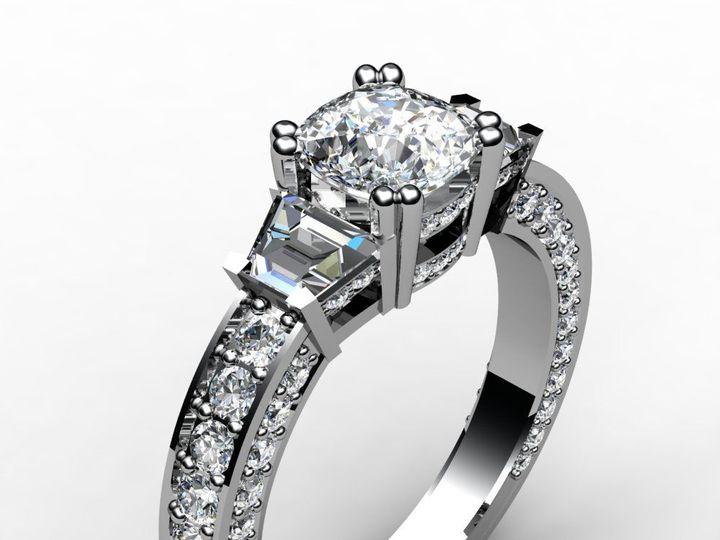 Tmx 1523894571 38d9eac72fbcdf4b 1523894570 64a16723b25d496f 1523894567151 6 Cushion3redo Pittsburgh, Pennsylvania wedding jewelry