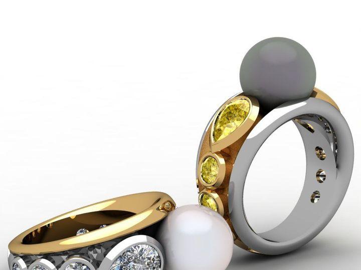 Tmx 1523894572 D9e2bfd4847b216e 1523894571 9c214fe99550f81f 1523894567155 10 Pearlbezel Rings Pittsburgh, Pennsylvania wedding jewelry