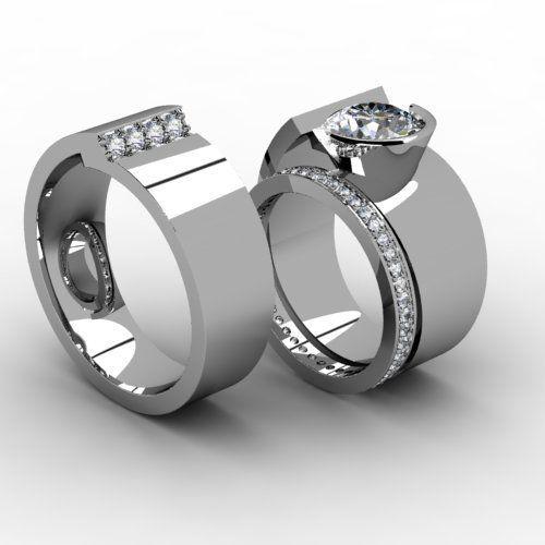 Tmx 1523894993 22d5e7544bd5ff69 1523894992 48e054d38882b3c6 1523894989322 22 Contemp Set Pittsburgh, Pennsylvania wedding jewelry