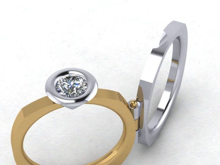 Tmx 1523894995 70352eb8df69ee7d 1523894994 84c67727e1126854 1523894989329 27 Fold Ring Pittsburgh, Pennsylvania wedding jewelry