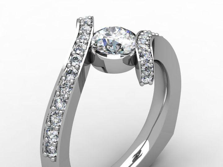 Tmx 1523894996 4be9580457fca881 1523894995 0f6f01ad3e979b1a 1523894989339 34 Kristie Ring2 Pittsburgh, Pennsylvania wedding jewelry