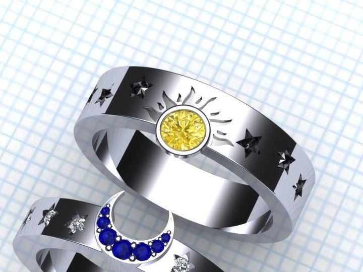 Tmx 1523895000 De16cf7a808ebf2e 1523894999 9a6f47f064a7c86a 1523894989353 46 Sunmoon2a Pittsburgh, Pennsylvania wedding jewelry