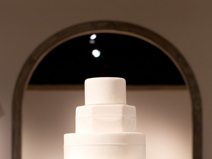 Tmx 1421732014345 Edible Artistry Sweet Southern Exposures High Point wedding cake