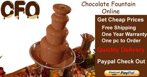 cf26a professional chocolate fountain ads