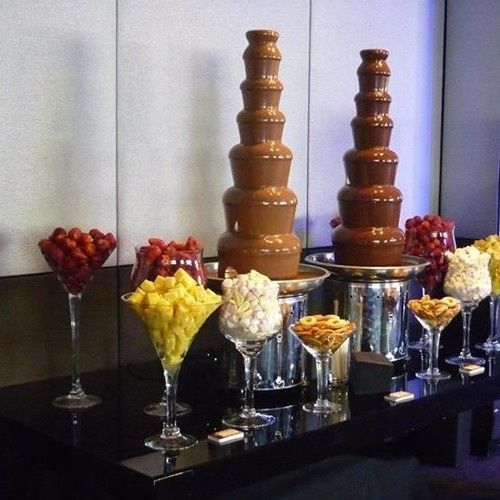 cf48a 7 tiers large commercial chocolate fountain