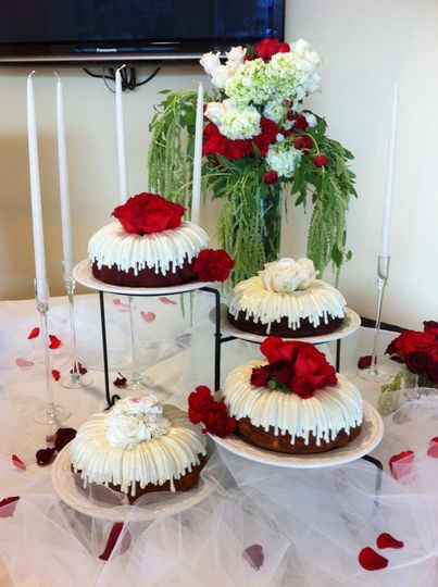 Nothing Bundt Cakes Wedding Cake Corte Madera Ca