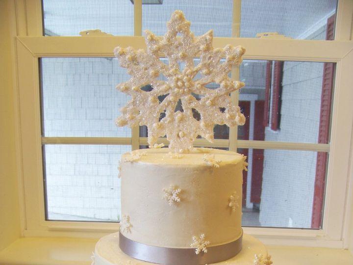 Tmx 1351529653463 Snowflakecake Stowe, VT wedding cake