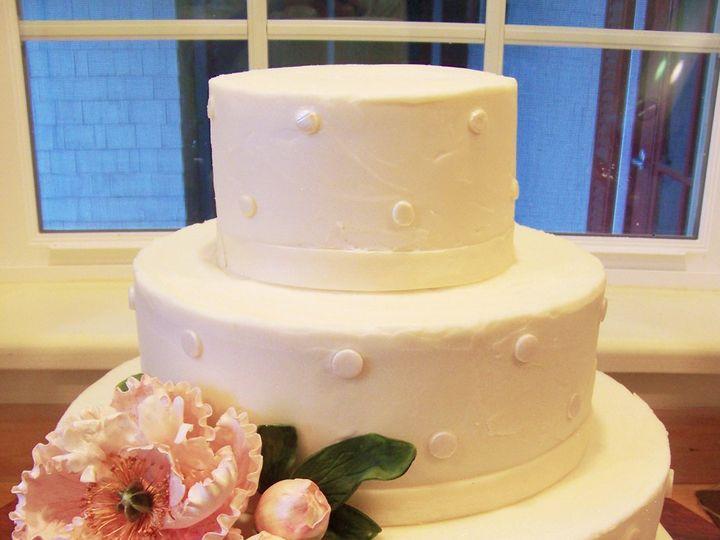 Tmx 1351529738094 Polkadotandpeonycake Stowe, VT wedding cake