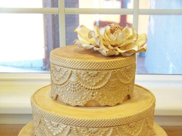 Tmx 1351529868353 Lacecake Stowe, VT wedding cake