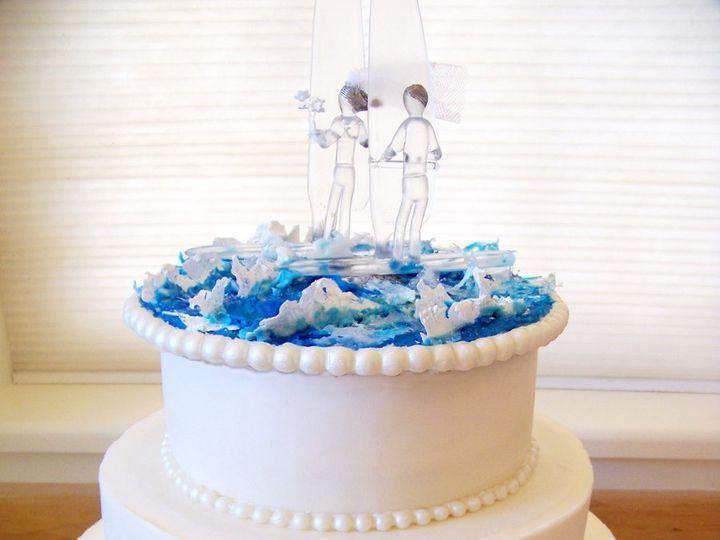 Tmx 1351530203749 Thewindsurfers Stowe, VT wedding cake