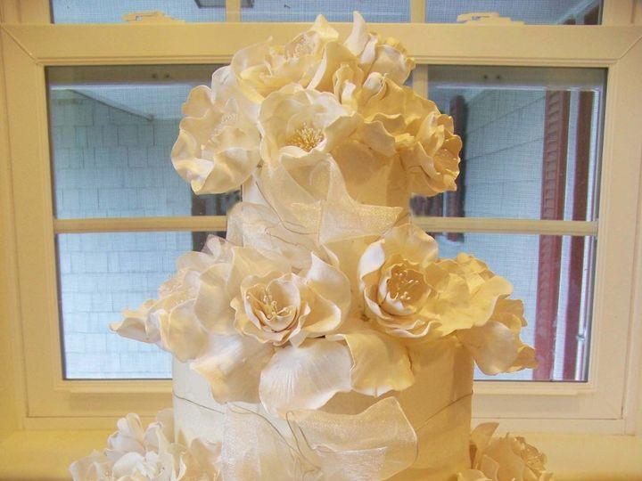 Tmx 1351530684134 Rufflerosecake1 Stowe, VT wedding cake
