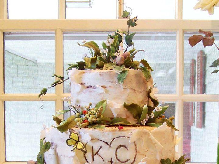 Tmx 1351531124019 BirchbarkcakeMaria Stowe, VT wedding cake