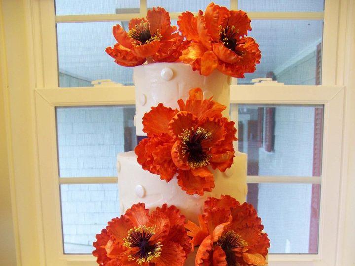 Tmx 1351531367563 Orangeflowertowercake1jpg Stowe, VT wedding cake