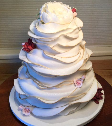 Tmx 1470055355519 Wrapped Cake  Final 1 Stowe, VT wedding cake