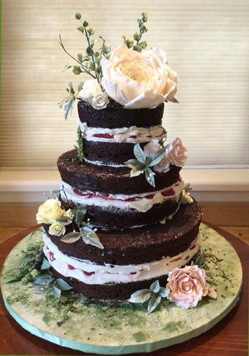 Tmx 1470055369907 Naked Cake Final 1 Stowe, VT wedding cake