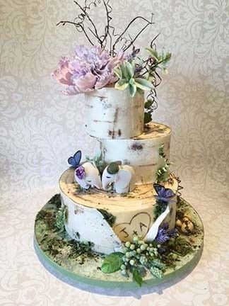 Tmx 1470055393159 Ja Lavender Birch Bark Stowe, VT wedding cake