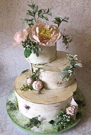Tmx 1470055405260 Gf Peony Birch Bark 3 Stowe, VT wedding cake