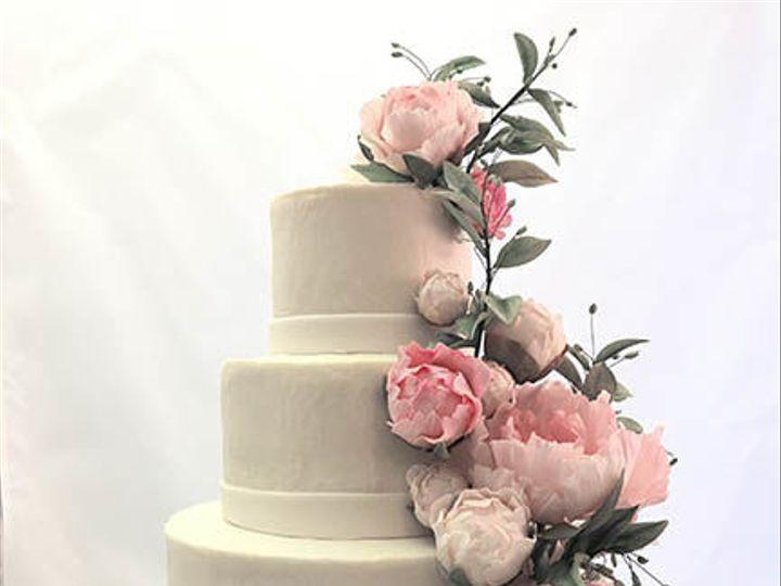 Tmx 1517339129 E16915866ea47e5e 1517339129 959235da7859d0cd 1517339128392 3 Peony Cake Stowe, VT wedding cake
