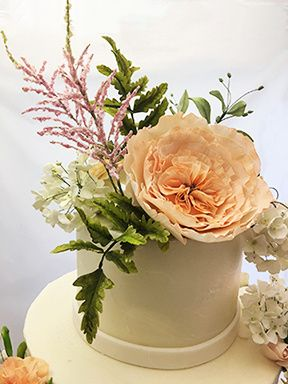 Tmx Astilbe And David Austin Rose Cake 51 156057 Stowe, VT wedding cake