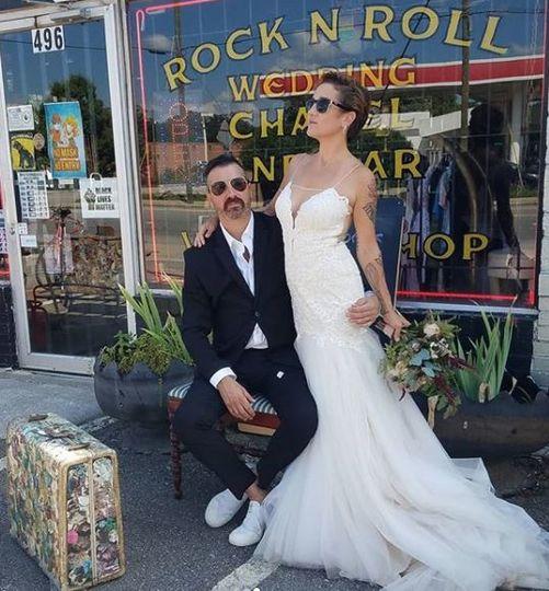 Rock n Roll Wedding Chapel