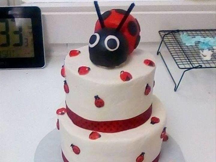 Tmx 1517332203 Cb86e680362ebbbd 1517332202 7894e934220f06dd 1517332202005 2 Ladybug Pendleton wedding cake