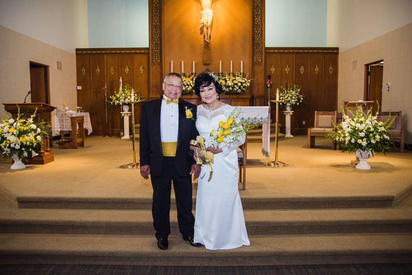 St. Dunstan Church Wedding