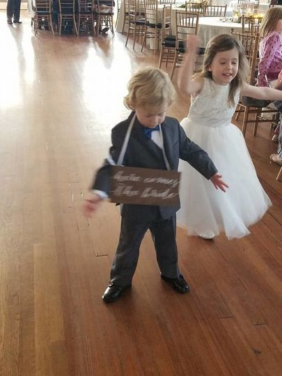 Junior bridal attendnats