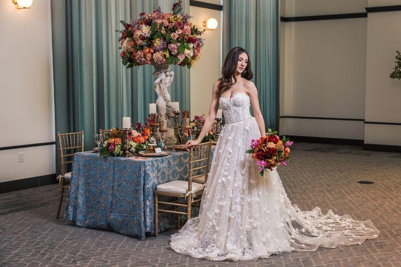 Bride in Belle Ballroom